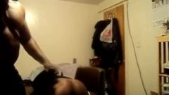 Dad Spanks Daughter And Fingers Her For Being Disobedient