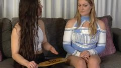 Cheerleader Spanked And Paddled 1