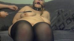 Elle Moon BBW With Sick Boy Harsh Spanking And Tit Torture Nude