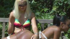 Ebony Get Spanked