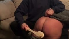 Meaty Butt Spanked