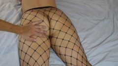 Ass-Hole Spanking And Grabbing, Cougar In Chocolate Fishnets ~dirtyfamily~