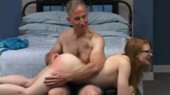 Madison Nubile Getting A Great Spanking