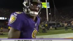 Rams Get Butt Whipped By Ravens On Monday Night Football