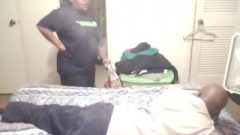 Don Takes A Raw Spanking Sideways On The Bed