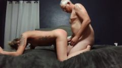 Getting Spanked While Being Banged Doggy Style