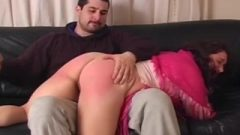 Spanking The Bad Housewife Ass-Hole Makes Her Stronger