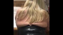 My Latex Spanking Skirt Makes Me So Moist