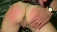 French Lesbian Whores Getting A Spanking