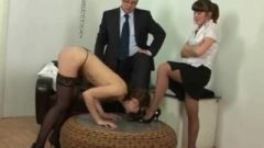 Lazy Secretary Barbie Takes Spanked By Her Boss