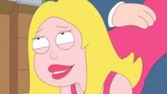 Kissable Golden-haired Takes Spanked