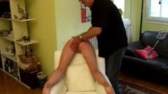S&s French Darling Spanked And Fondled