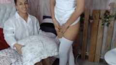 Nasty Nurse Was Spanked By Mr Doctor