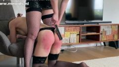 Slave Female Noortje Receives A Very Raw Spanking