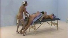 Filthy Nurses Visit Sick Dude