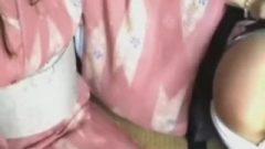 159 Kimono Girl's Discipline – Spanking