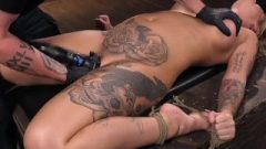 Huge Boobed Alt Slut In Grueling Bondage And Tormented