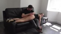 Punished And Spanked For Wearing Hungry Clothing