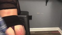 Obedient Wife Needed Punishment Paddle Breaks Over Huge Red Butt